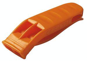 Seenotpfeife aus Kunststoff,orange